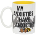 Peanuts by Department 56 6002590N My Anxieties Mug
