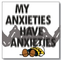 Peanuts by Department 56 6002598N My Anxieties magnet