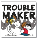 Peanuts by Department 56 6002601N Trouble Maker magnet