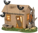 Peanuts Villages by Department 56 6005589N Peanuts Haunted House