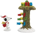 Peanuts by Department 56 6011085N Santa Snoopy Delivering Gifts
