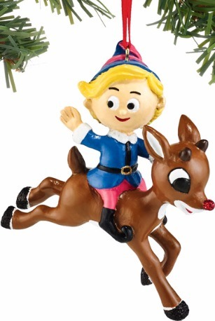 Rudolph by Department 56 4051609 Hermey Riding Rudolph