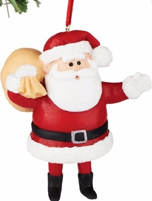 Rudolph by Department 56 4051632 Santa Ornament
