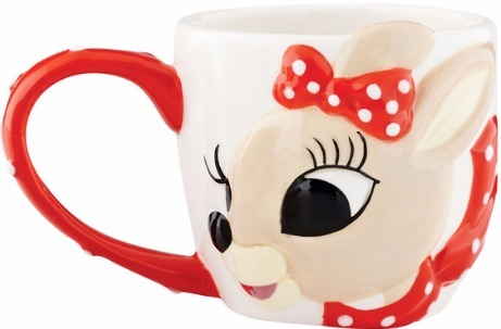 Rudolph by Department 56 4055954 Clarice Mug