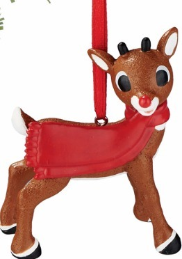 Rudolph by Department 56 4057208 Personalizable Ornament
