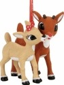 Rudolph by Department 56 4057968 Rudolph and Clarice Ornament