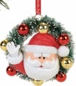 Rudolph by Department 56 4057977 Santa In A Wreath Ornament