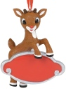 Rudolph by Department 56 6000321 Personalizable Ornament