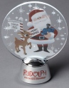 Rudolph by Department 56 6000498 Rudolph and Santa Tabletop Holidazzler