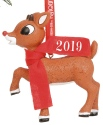 Rudolph by Department 56 6011027 Rudolph 2019 Dated Ornament