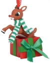 Rudolph by Department 56 6011028 Rudolph Jumping Ornament