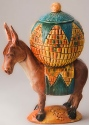 DaNisha Sculpture M001 Pedro Burro with Lid
