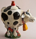 DaNisha Sculpture M004 Tula Cow with Lid