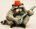 DaNisha Sculpture M019 Rocky Raccoon No Lid