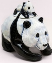 DaNisha Sculpture M024 Panda Bear Pack with Lid