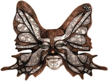 D'Argenta 2102 Butterfly Mask by Javier Arenas