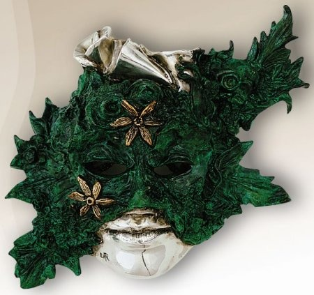 D'Argenta 2104 Calla Lily Mask by Javier Arenas # 2104
