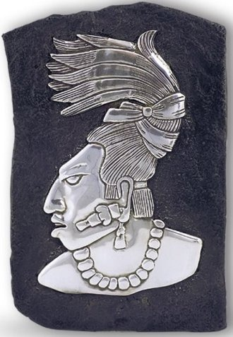 D'Argenta 307 Palenque's Figure # 307