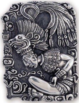 D'Argenta 314 Mayan Priest Relief