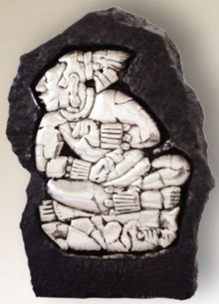 D'Argenta 330 Seated Maya Relief