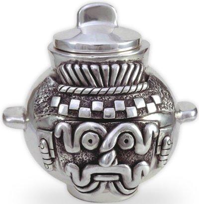 D'Argenta 418 Tlaloc's Pot # 418