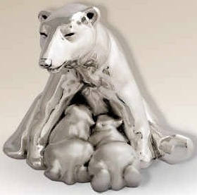 D'Argenta 7003 Polar Bear by Cristina Zamora
