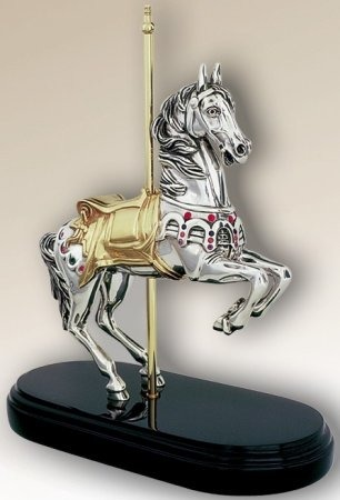 D'Argenta 7510 Carousel Horse by Claudio Rodriguez