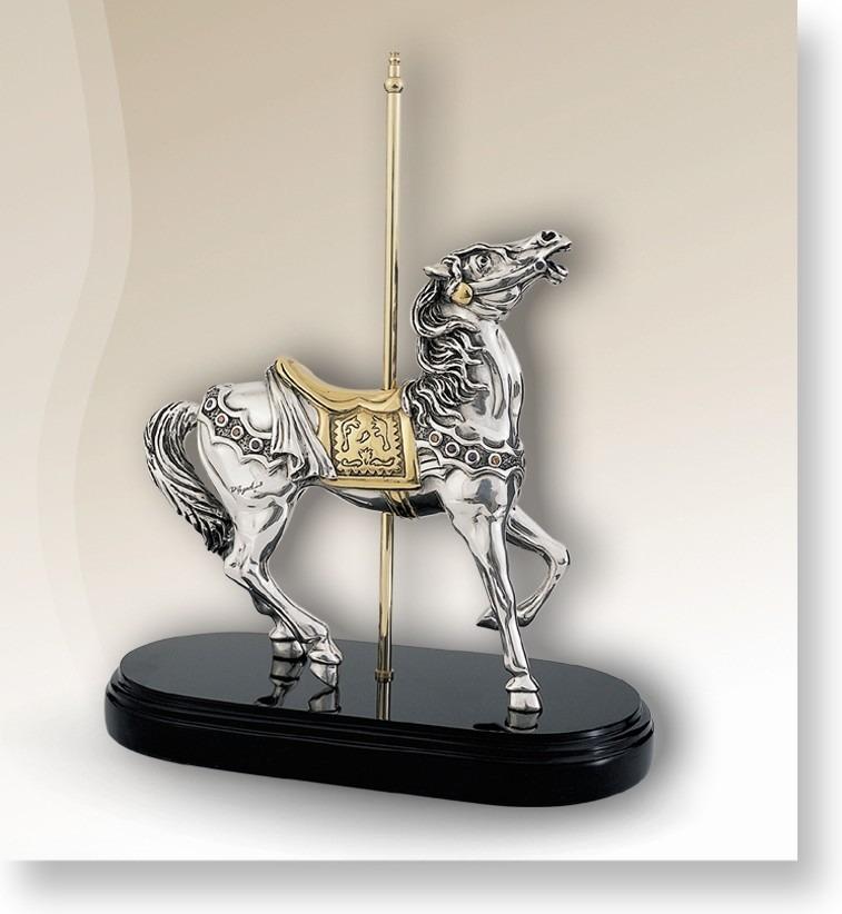 D'Argenta 7512 Carousel Horse by Claudio Rodriguez