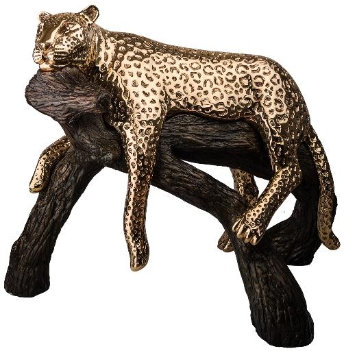 D'Argenta 8031O Leopard Calm on Branch by Ricardo del Rio