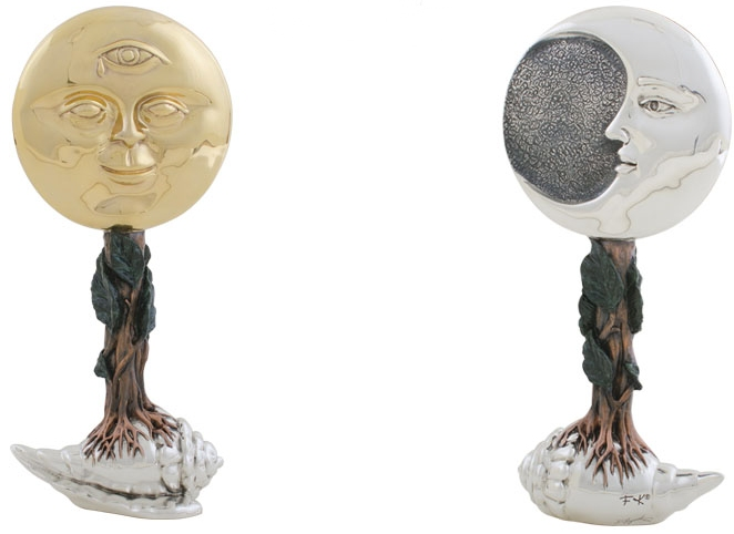 D'Argenta FK04N The Sun And The Moon by Frida Kahlo
