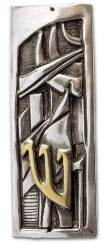 D'Argenta MZ4 Art Deco Mezuzah by Javier Arenas # MZ4