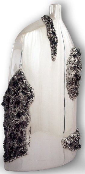 D'Argenta U106 Vase by Sima Abraham # U106