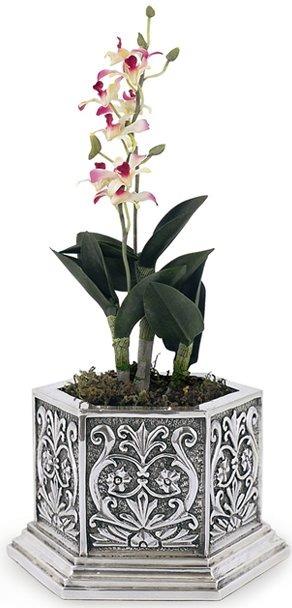 D'Argenta U20 Flower Pot by Martin Mendoza