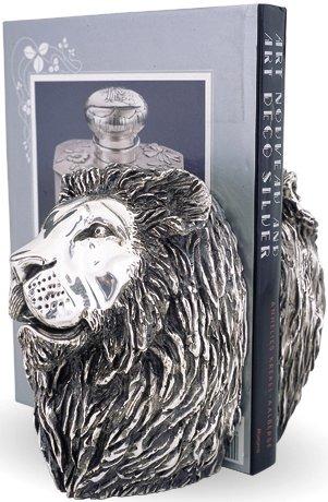D'Argenta U25 Lion Book Holder by Claudio Rodriguez