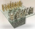 D'Argenta p1 Chess Set by Jose Luis Pinal Ltd Ed 50 # p1