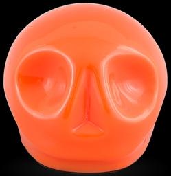 D'Argenta Studio Resin Art RV29Orange Tzompantli 1 - Skull - Orange