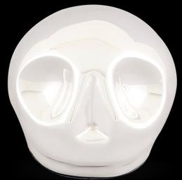 D'Argenta Studio Resin Art RV29Silver Tzompantli 1 - Skull - .999 Silver Plated