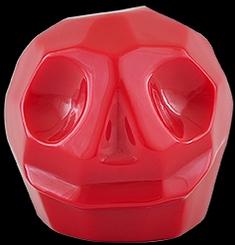 D'Argenta Studio Resin Art RV31Red Tzompantli 2 - Skull - Red