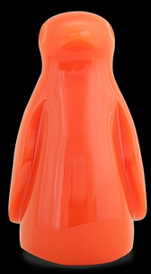 D'Argenta Studio Resin Art RV33Orange Totontli - Penguin Bird -Orange