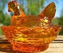 Special Sale DEGCSOrangeLight Degenhart Glass CS Chick Salt Orange Has D Machine Stamp