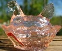 Special Sale DEGCSPink Degenhart Glass CS Chick Salt Pink Has D Machine Stamp