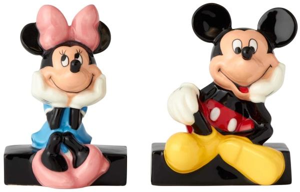 Disney Pixar Ceramics 6001013 Mickey and Minnie S&P
