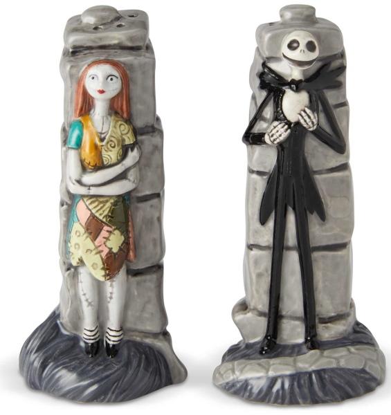 Disney Pixar Ceramics 6002274 Jack and Sally S&P