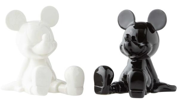Disney Pixar Ceramics 6003748 Black and White Mickey S&P