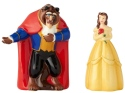 Disney by Department 56 6001015 Belle and Beast Salt and Pepper