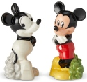 Disney Pixar Ceramics 6002271 Mickey Then and Now S and P