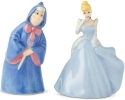 Disney by Department 56 6003745 Cinderella And Fairy Godmother Salt and Pepper