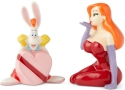Disney by Department 56 6003747 Jessica And Roger Rabbit Salt and Pepper