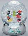 Disney by Department 56 6007137N Mickey and Minnie Waterball