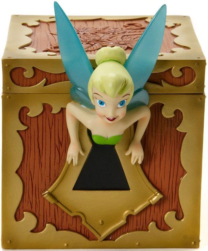 Disney Showcase 4017926 Tinkerbell Covered Box